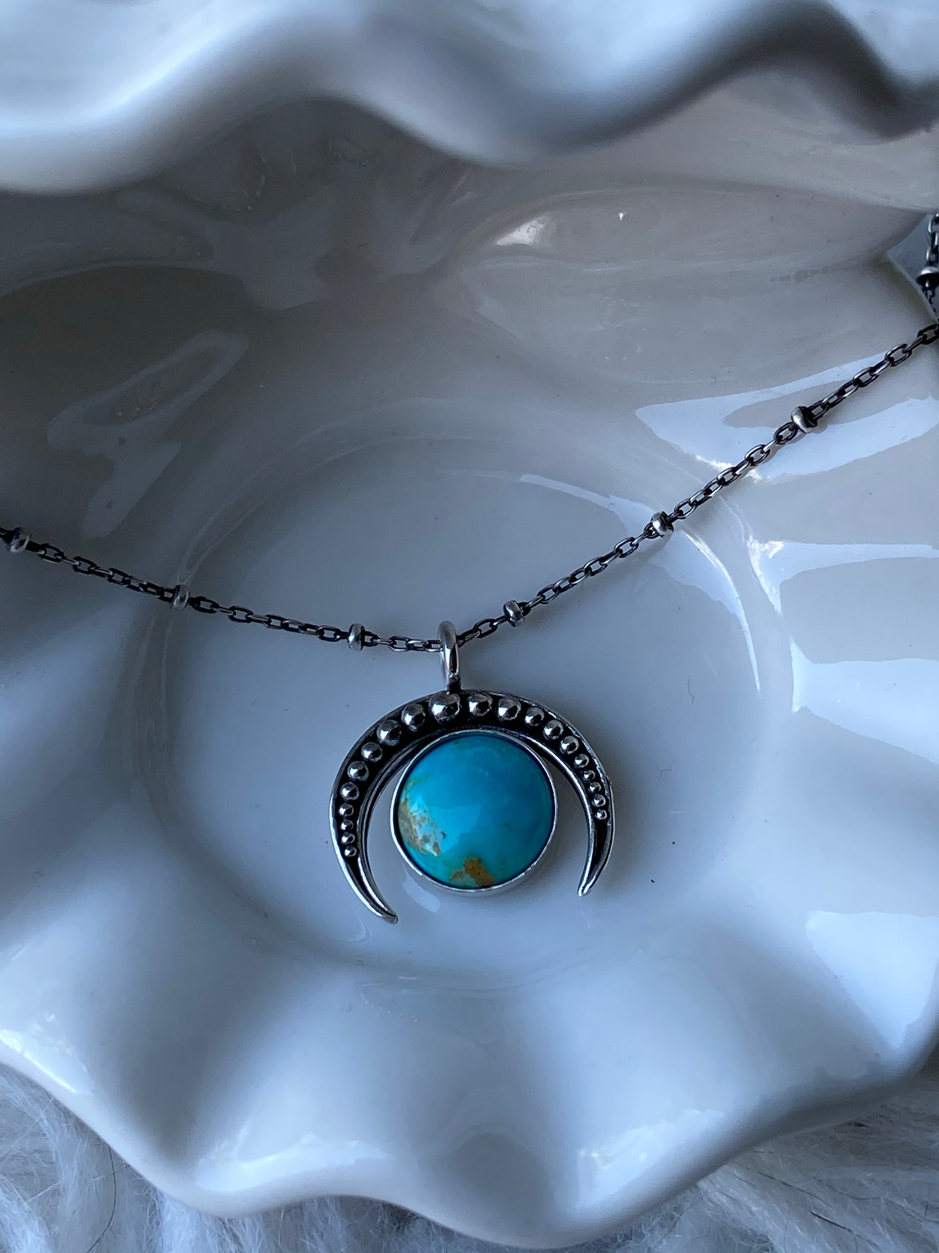 Moon Naja Necklace