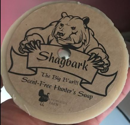 Soap, That's a Big Ba'r! Shagbark Hunter's Soap