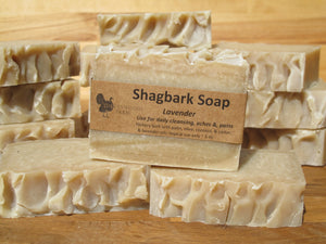 Soap, Shagbark, with Lavender