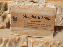 Load image into Gallery viewer, Soap, Shagbark, with Lavender
