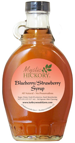 5. Blueberry-Strawberry Syrup