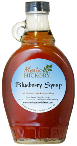 4. Blueberry Syrup