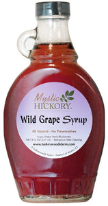 7. Wild Grape Syrup: limited availability