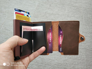 Porte-cartes anti RFID BOHAN - Luxury Cappuccino