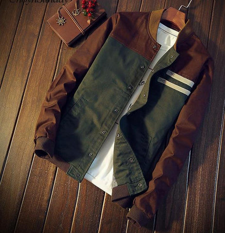 Casual Tactical Winter Male Bomber Jacket
