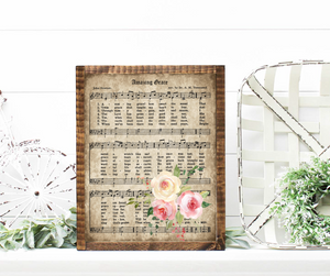 Amazing Grace Print -  Hymns - Printed Hymns
