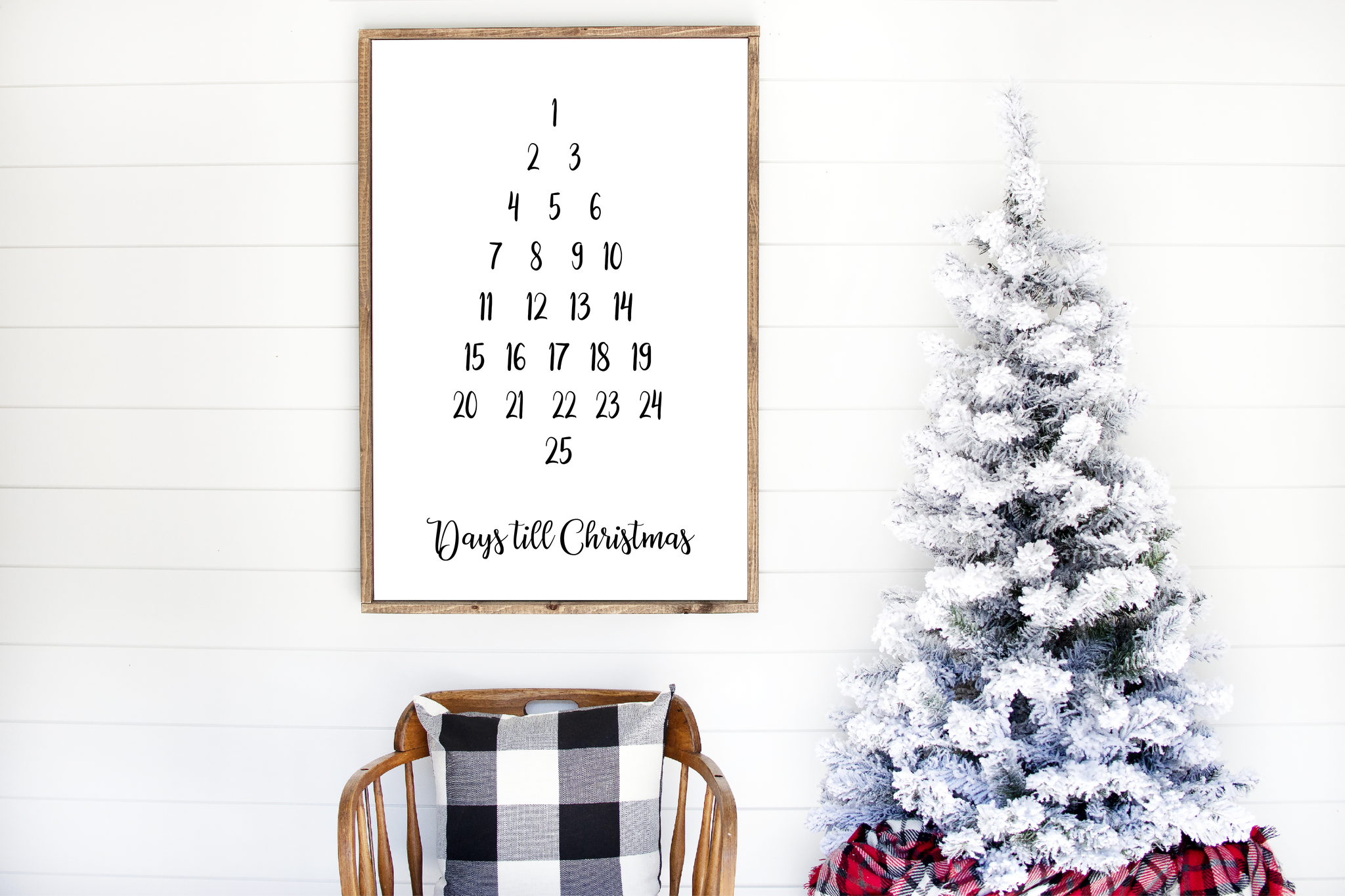 Days Till Christmas Printable