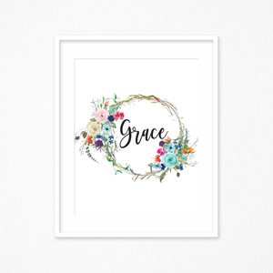 Scripture Printable Grace