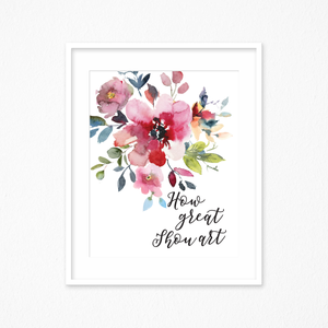 How Great Thou Art Printable