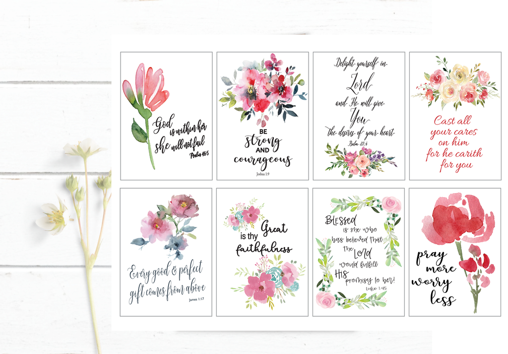 Scripture Cards - Bible Verse Cards