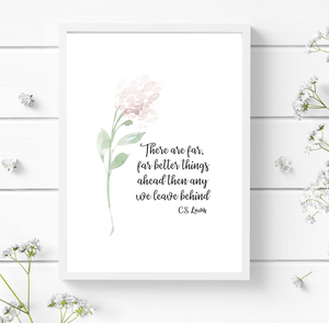 There are better things ahead - Print