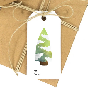Christmas Tree Favor Tag
