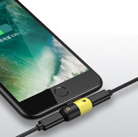 Adaptador de Audio Lightning + Cargador para iPhone