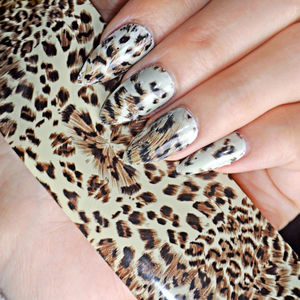 Foil leopardo chocolate - Cosmetica greenstyle