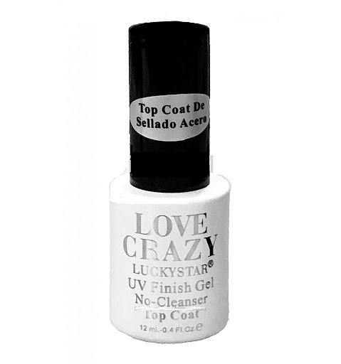 Top Coat love crazy 12ml - Cosmetica greenstyle