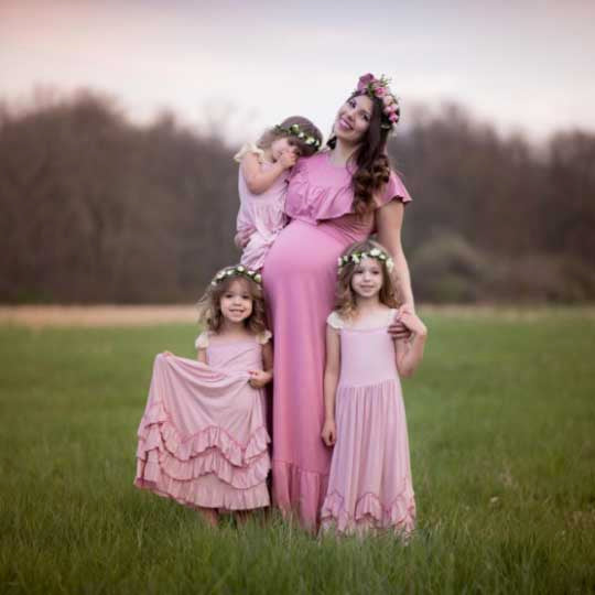 Everweekend Girls Ruffles Maxi Dress, the Beginning of the Brand Story
