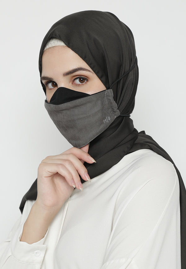 Afiya Mask Dark Grey