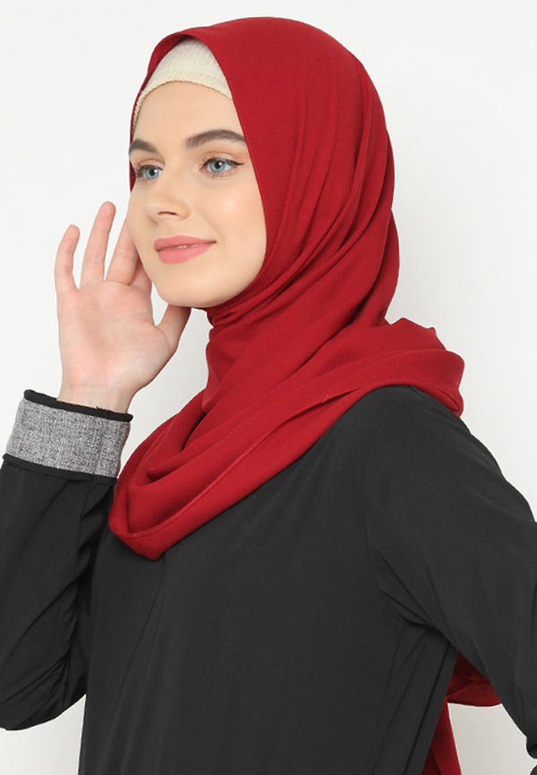 Ghania Pashmina Red