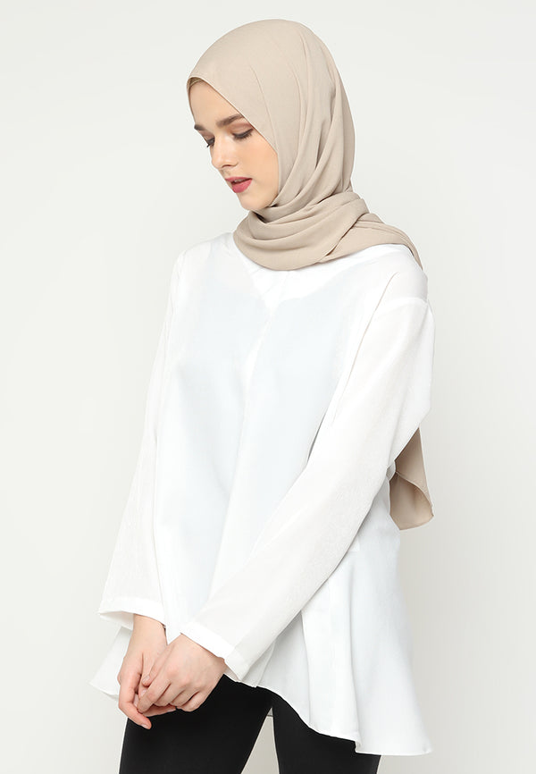 Malaika Blouse White