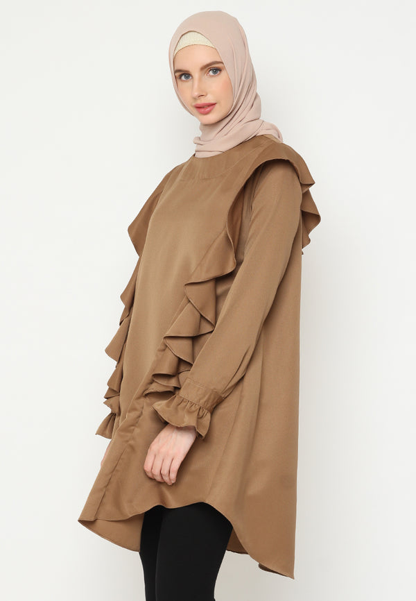 Muthiah Blouse Brown
