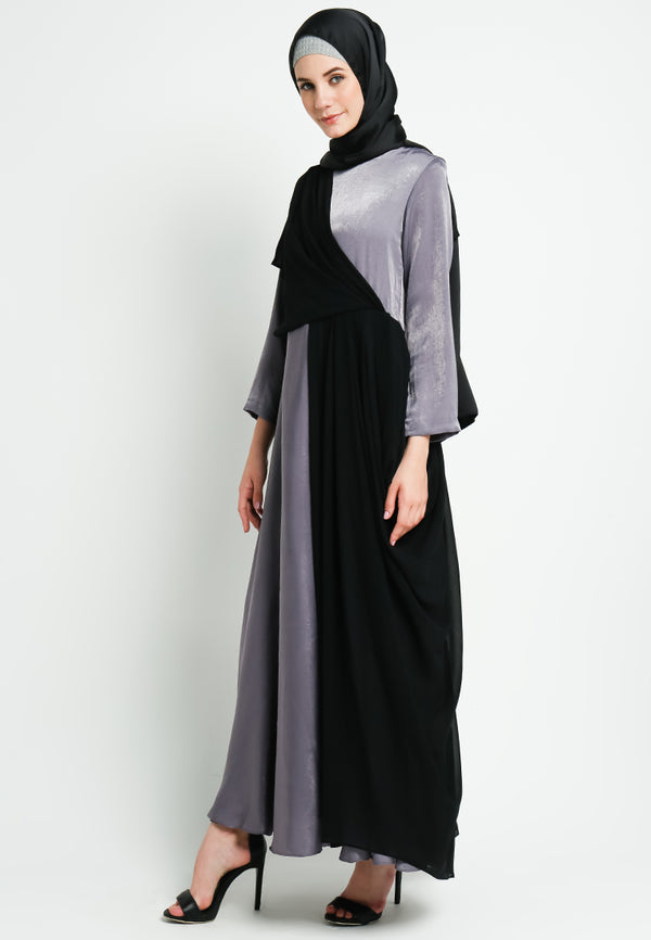 Risya Dress Grey