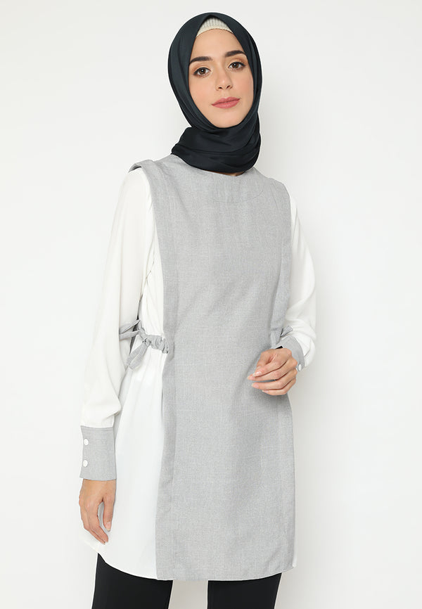 Sharda Tunik White