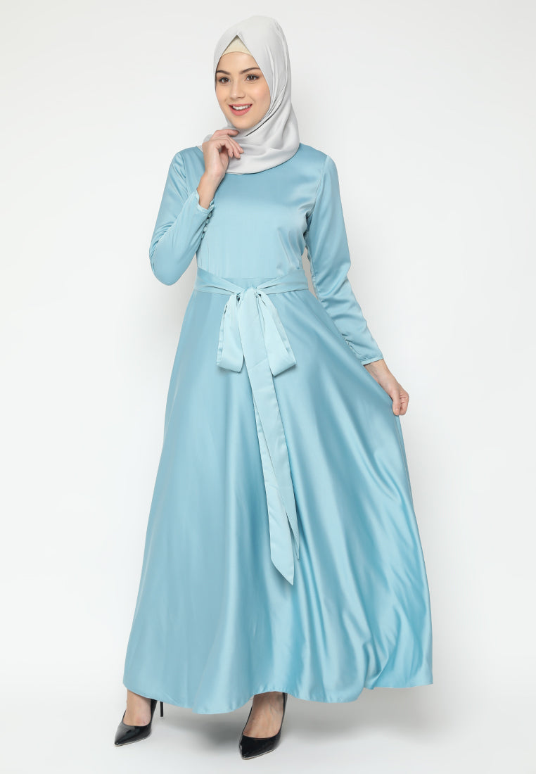 Almeera Dress Blue