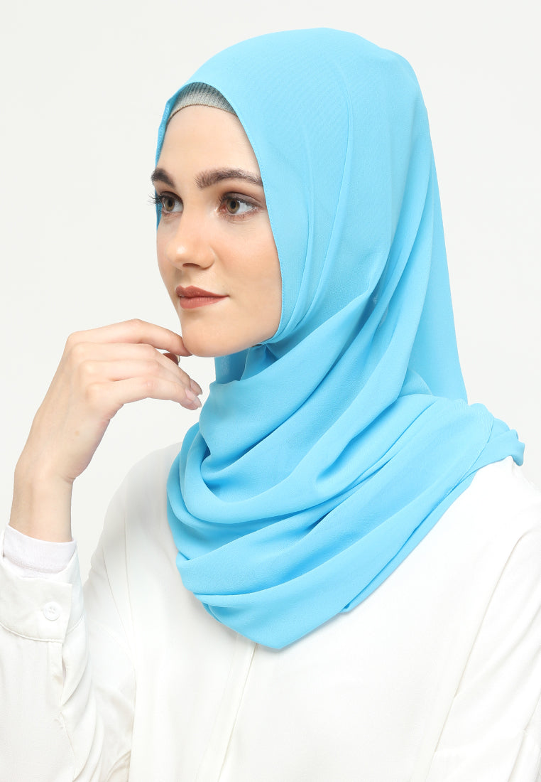 Qirani Pashmina Light Blue