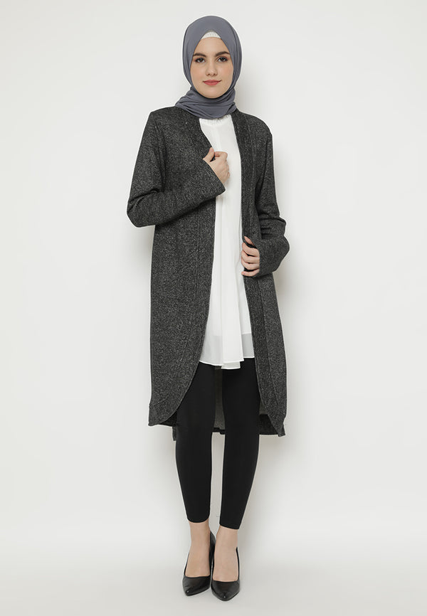 Tanisha Cardigan Carbon Black