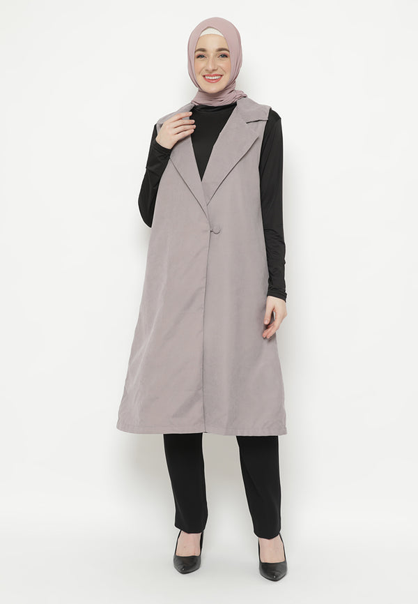 Nashita Outer Light Grey