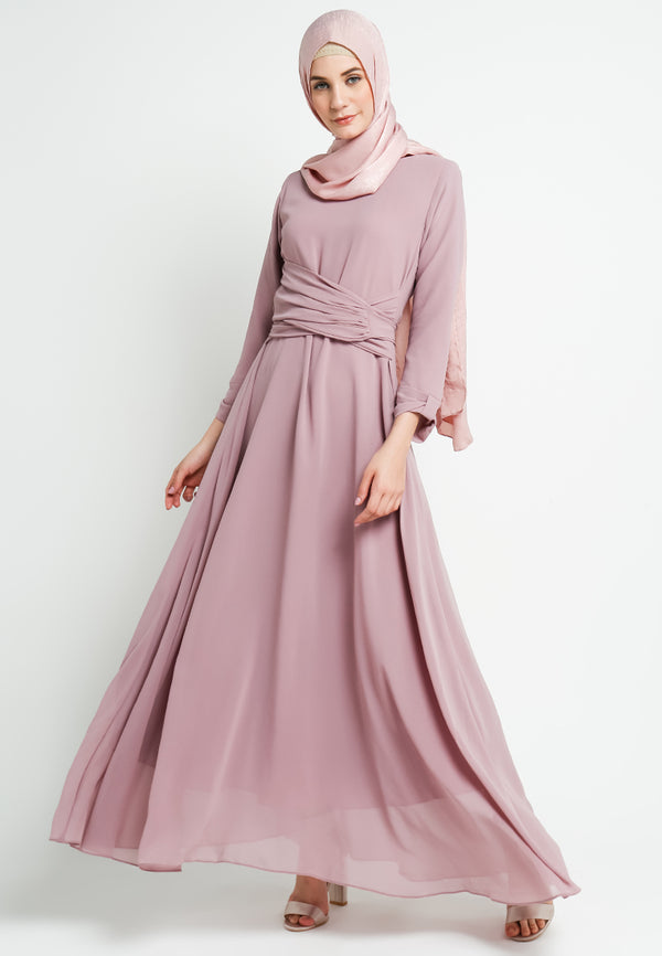 Shamala Dress Dusty Pink