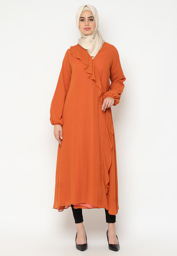 Syakira Tunik Orange