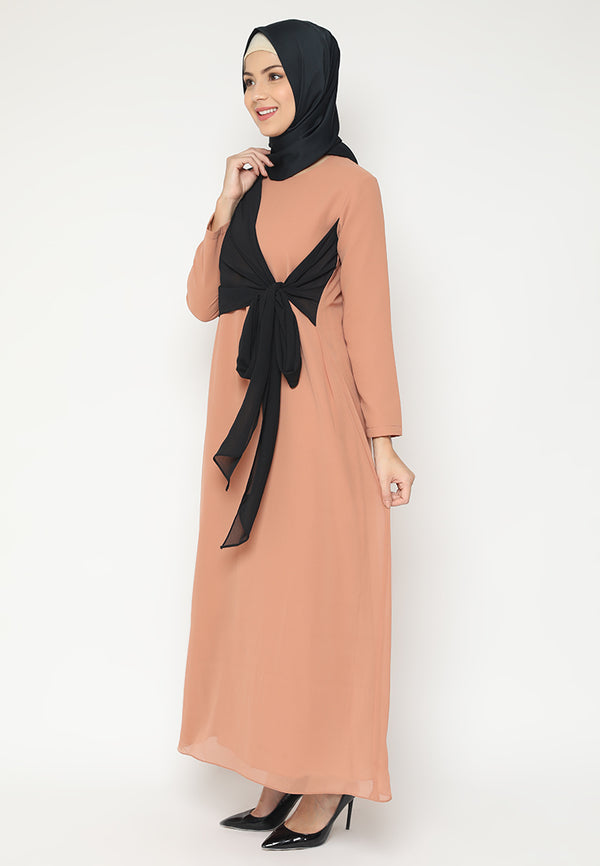 Inayah Dress Brown