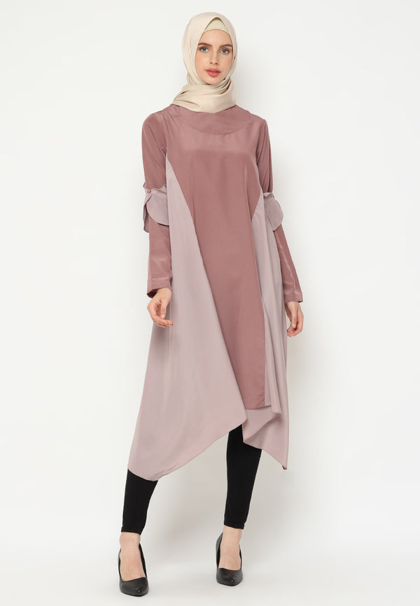 Saufa Tunik Dusty Mocca