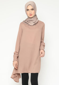 Mufidah Tunik Cream