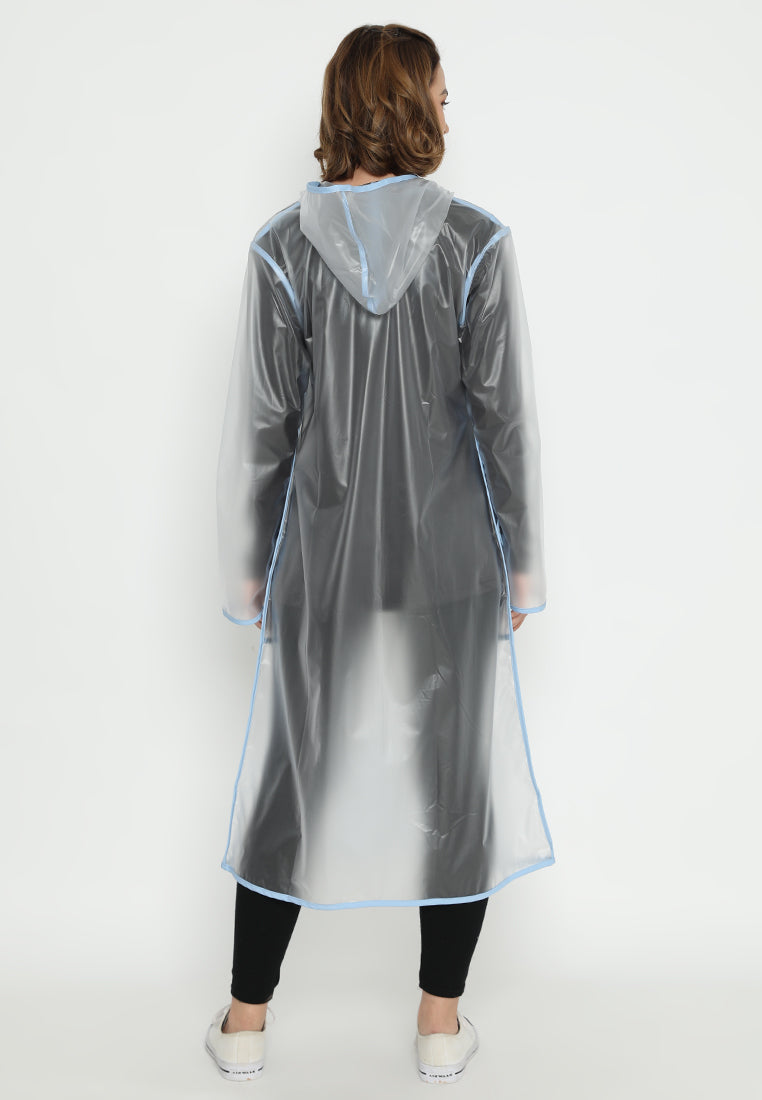 Quinnsha Rain Coat Blue
