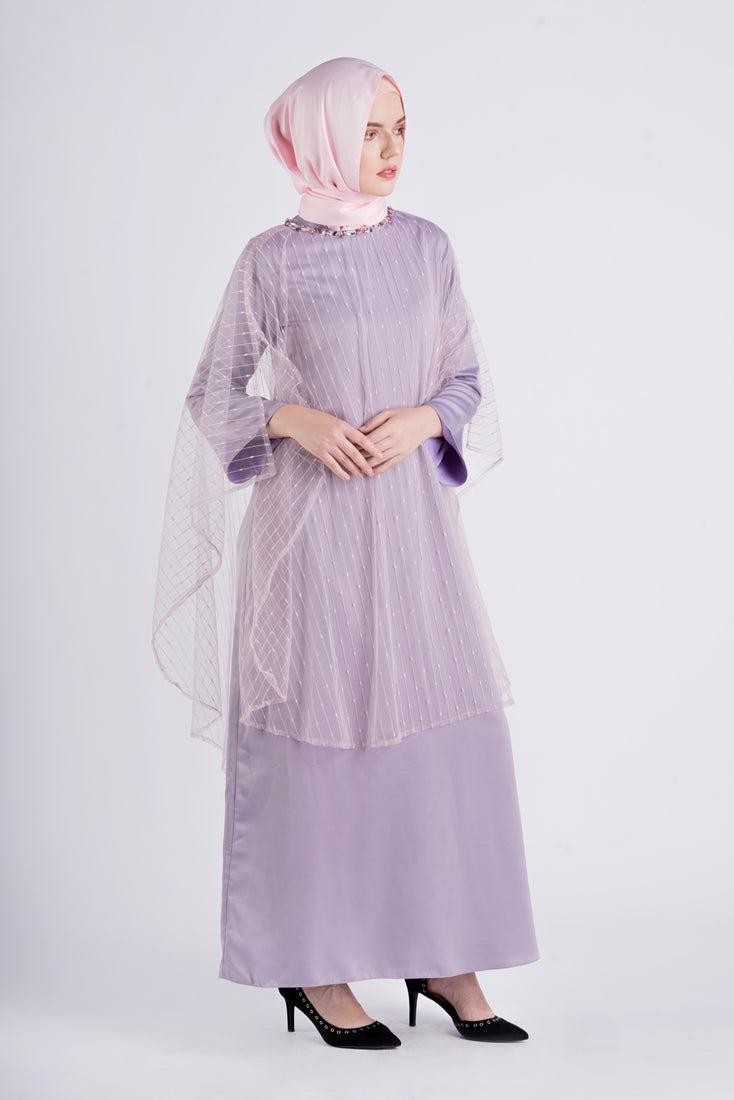 Naifa Dress Purple