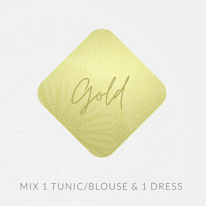 Mystery Box Gold Package - Mix 1 Tunic/Blouse & 1 Dress