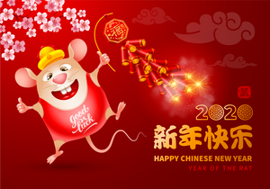 Chinese New Year 2020 - Year of the Rat