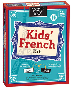Kids' French Magnet Tiles