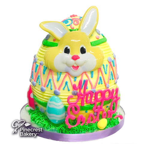 Easter Bunny Egg Merengue Pink