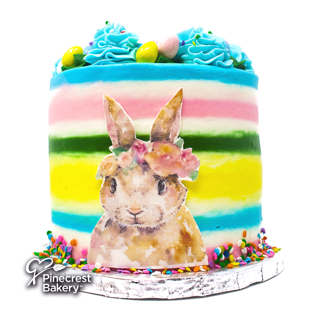 Easter Buttercream Bunny's Self-Portrait