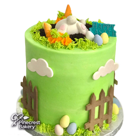Easter Buttercream Bunny's Farm