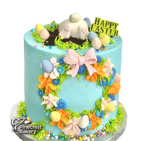 Easter Buttercream Bunny's Home