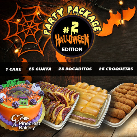 Halloween #2 Party Package | Cake