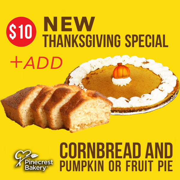 $10 Thanksgiving Special