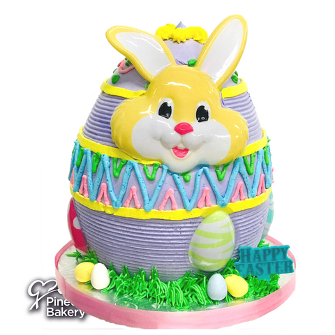 Easter Bunny Egg Merengue Purple