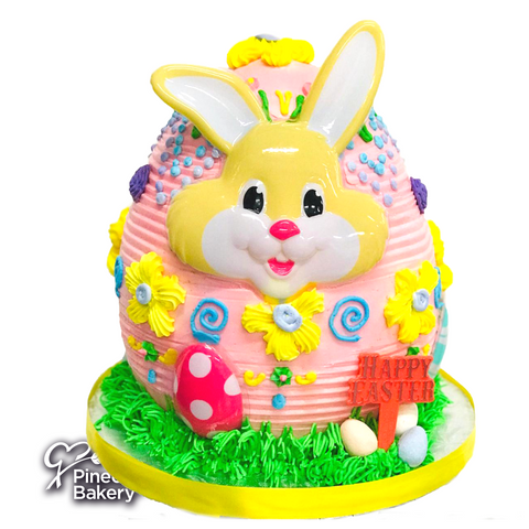 Easter Bunny Egg Merengue Yellow