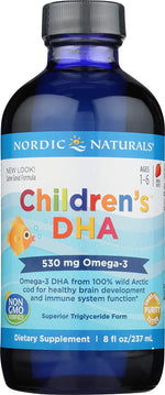 Nordic Naturals - Children's DHA Omega-3 530 mg (8 fl oz)