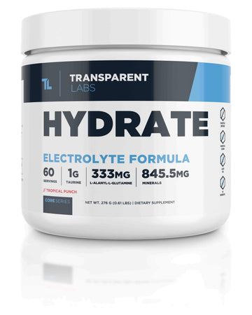 Transparent Labs - Hydrate (60 Serv)